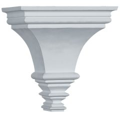"COR07X07X05TR 7-1/8""W x 5-1/8""D x 7-1/2""H Traditional Sconce Corbel"