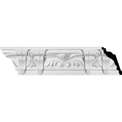 "MLD04X04X06JO 4-7/8""H x 4-1/4""P x 6-1/2""F x 95-5/8""L,(13-5/8"" Repeat),Jonee Crown Molding"