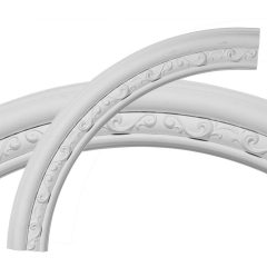 "CR35WA 36""OD x 29-1/2""ID x 3-1/4""W x 1""P Watford Ceiling Ring (1/4 of complete circle)"
