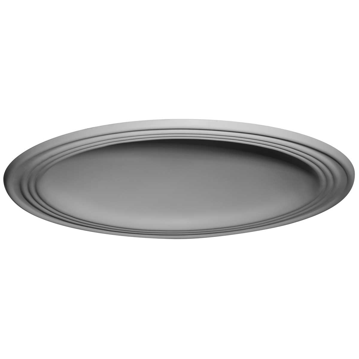 """DOME28TR 28""""OD x 22-1/2""""ID x 4-5/8""""D,2-3/4""""W Trim,Traditional Ceiling Dome (24""""Diameter x 4-1/2""""D Rough Opening)"""