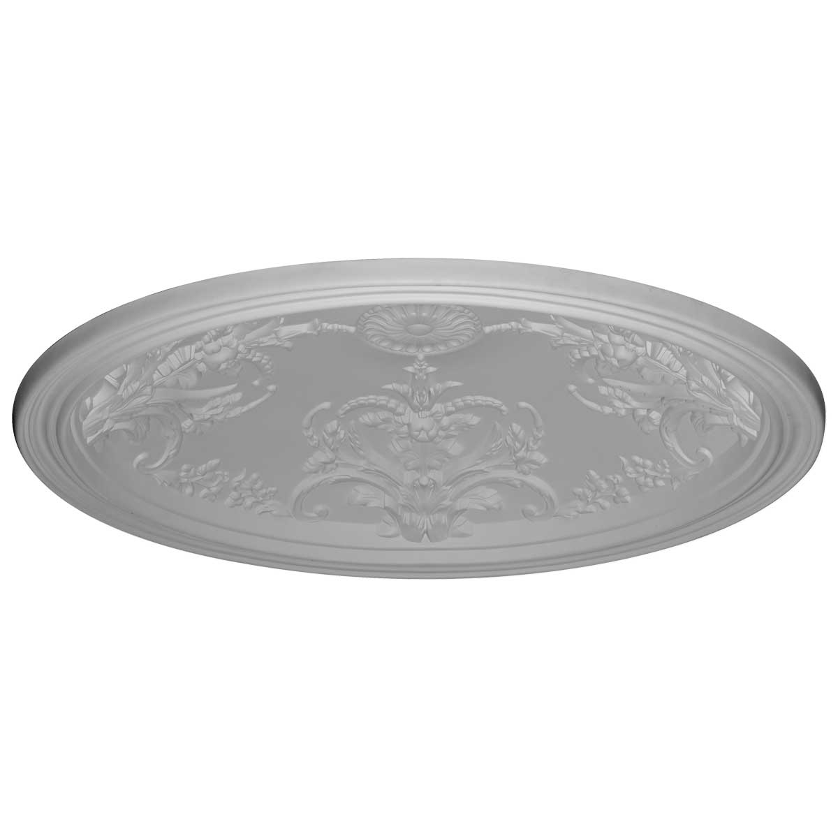 """DOME46BE 45-5/8""""OD x 39-3/8""""ID x 8""""D,Benson Ceiling Dome,3-1/8""""W Trim (39""""Diameter x 8""""D Rough Opening)"""