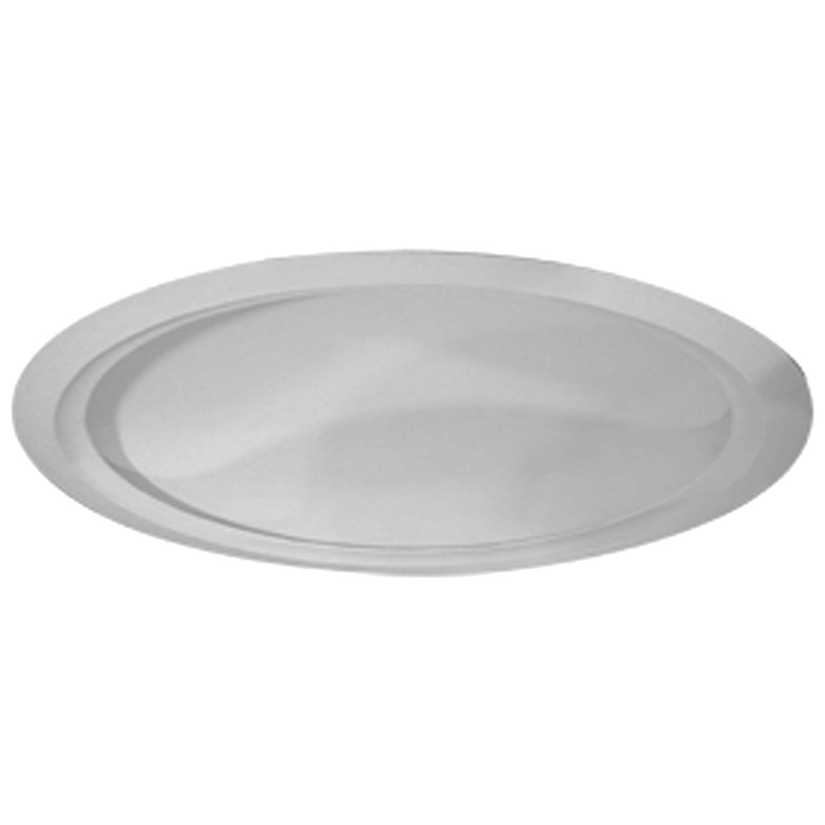 """DOME62AR 63-5/8""""OD x 59-1/2""""ID 13-3/8""""D Artisan Ceiling Dome with Light Ring (62""""Diameter x 13-3/8""""D Rough Opening)"""