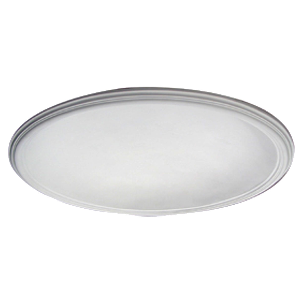"""DOME44SM 44-1/8""""OD x 39""""ID x 8-3/8""""D,Recessed Smooth Ceiling Dome,2-1/2""""W Trim (40""""Diameter x 7-3/4""""D Rough Opening)"""