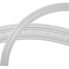 "CR59DY 59-1/2""OD x 51-1/2""ID x 4""W x 1-1/2""P Dylan Ceiling Ring (1/4 of complete circle)"