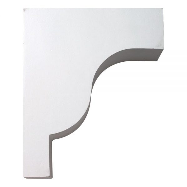 "BKT10X12X4 BRACKET, Fypon Plain 12"" H x 4"" W x 10"" Projection"