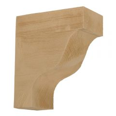 "BKT11X13X6S RUSTIC BRACKET, Fypon Stainable 13"" x 6"" x 11"""