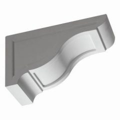 "BKT18X10 BRACKET, Fypon Recessed 10-1/8"" H x 7-1/4"" W x 18"" Projection"