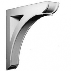 "BKT36X36 BRACKET, Fypon Massive Arch 36-1/8"" H x 6"" W x 36-1/8"" Projection"
