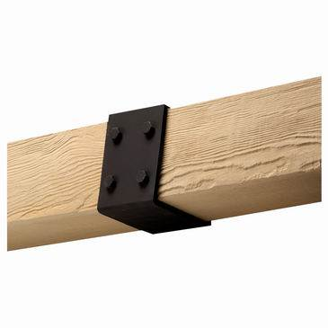 "BMSTRPS8X10 RUSTIC BEAM STRAP, Fypon Stainable Smooth 8-3/8"" W x 9-5/8"" H x 6"" P"