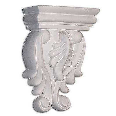 C8039 Decorative Corbel, 3-11/16'' Hx2-5/8'' Wx1-3/8'' D
