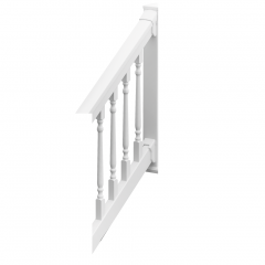 Colonial QuickRail STAIR Rail Kits [WHITE]