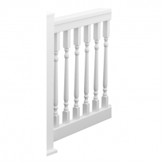 Colonial QuickRail Straight Rail Kits [WHITE]