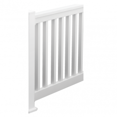 Square QuickRail Straight Rail Kits [WHITE]