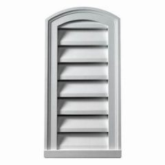 EYEBROW LOUVER, Fypon Functional Brick Mould Style