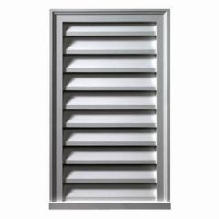 "FLV12X40 VERTICAL LOUVER, Fypon Functional 12"" x 40"""