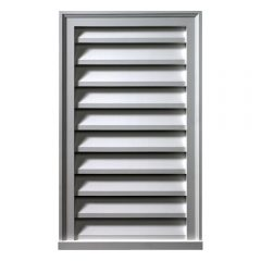 "LV12X40 VERTICAL LOUVER, Fypon Decorative 12"" x 40"""