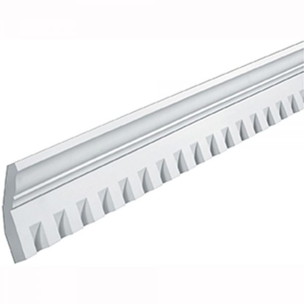 "MLD410-12 MOULDING, Fypon Crown Dentil 3-1/4"" x 6-7/8"" x 12'"