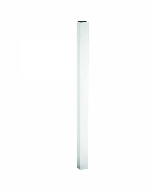 """44043275SS Square Spindle (one) (1-1/2""""x1-1/2""""x32-3/4"""") [White]"""