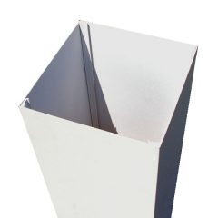 Afco Aluminum Deck Post Wraps, Various Sizes