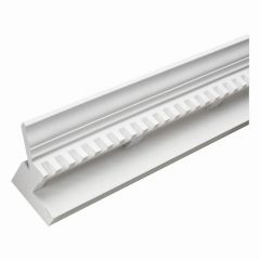 "EV404 E-VENT, Fypon Crown Dentil 6-3/16"" H x 144"" L x 4-7/16"" P"