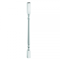 "44043275CS Colonial Spindle (one) (1-1/2""x1-1/2""x32-3/4"") [White]"