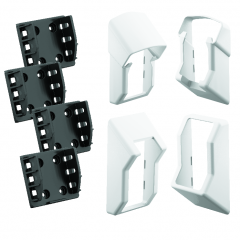 4409DFSUBK STAIR Bracket Kit for QuickRail Systems [WHITE]