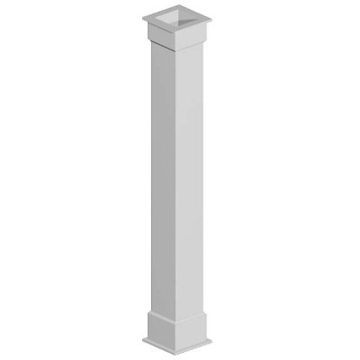 PremiumSelect Smooth Non-Tapered Square Column Wraps