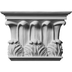 """CAP11X08X03TW 10 3/4""""W x 7 5/8""""H x 2 3/4""""P Temple of Winds Capital (Fits Pilasters up to 7 3/8""""W x 1 1/8""""D)"""