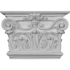 """CAP07X10X03AR 10 3/8""""W x 7 1/2""""H x 2 5/8""""P Artis Onlay Capital (Fits Pilasters up to 7 3/4""""W x 1 3/8""""D)"""