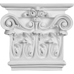 """CAP09X07X03AR 7 1/2""""W x 8 5/8""""H x 2 1/2""""P Artis Onlay Capital (Fits Pilasters up to 5 1/4""""W x 1/2""""D)"""