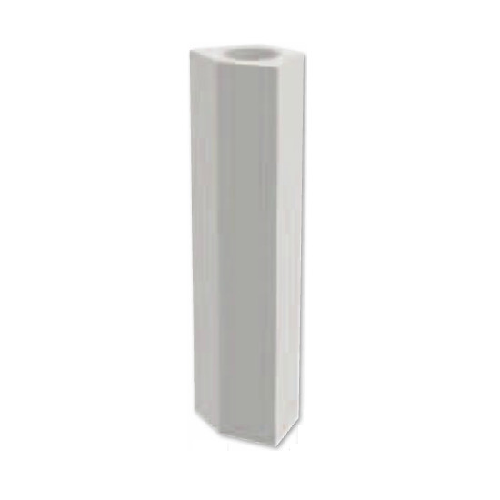 "7-1/2""W 48""H American Made Plain Newel Post 45 Degree (NP4808-5)"