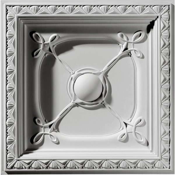 """CT24X24CO24""""W x 24""""H x 2 7/8""""P Colonial Ceiling Tile"""