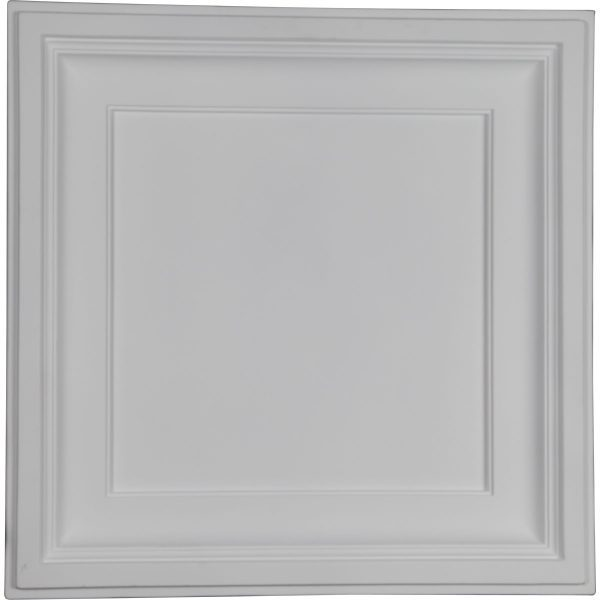 """CT24X24TR23 7/8""""W x 23 7/8""""H x 2 1/2""""P Traditional Ceiling Tile"""