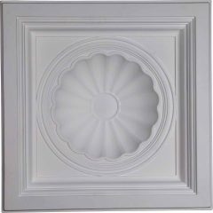 "CT24X24SH23 7/8""W x 23 7/8""H x 5 1/2""P Shell Ceiling Tile"