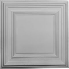 "CT24CL23 3/4""W x 23 3/4""H x 1 5/8""P Classic Square Ceiling Tile"