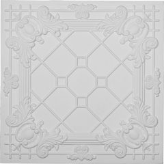 "CT24X24HI24""W x 24""H x 3/4""P Hillsborough Ceiling Tile"