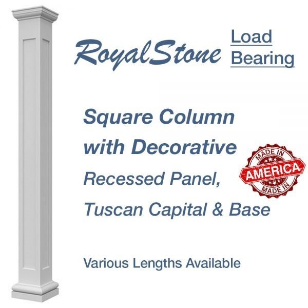 RoyalStone Square Recessed Panel